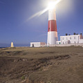 Lighthouse In Portland Bill by Ian Middleton