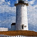 Lighthouse Keepers Dwelling by Deborah Selib-Haig DMacq
