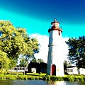 Lighthouse by Mira Dobric