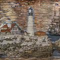 Lighthouse Montage 2015 by Kathryn Strick