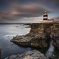 Lighthouse On Cliffs by Grzegorz Wanowicz