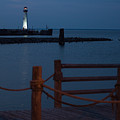 Lighthouse Path by Wesley Farnsworth