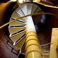Lighthouse Stairway by Lennie Malvone