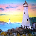 Lighthouse Study by Larry Hamilton