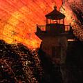Lighthouse Sunrise by Natalie Bollinger