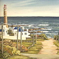 Lighthouse Uruguay  by Natalia Tejera