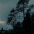 Lighting On The Lake 2 by Benjamin Dunlap