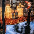 Lightner Koi Pond Reflection I by Stacey Sather
