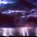 Lightning Above And Below by Kathleen Prince
