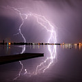Lightning And Water by Hollie Adams