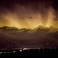 Lightning Cloud Burst Boulder County Colorado Im29 by James BO  Insogna