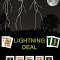 Lightning Deal  Poker Cards by Eric Kempson