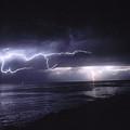Lightning Off The Gaviota Coast by Brian Lockett