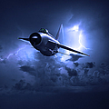 Lightning Storm by Gary Eason