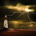 Lightning Storm by Meirion Matthias