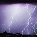 Lightning Storm North Scottsdale Az 85255 by James BO  Insogna