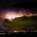 Lightning Thunderstorm Cloud Burst by James BO  Insogna