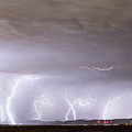 Lightning Thunderstorm Extreme Weather Over Golden Colorado by James BO Insogna