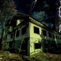 Lightnings On Abandoned Hotel On Liguria Mountains High Way - Fulmini Su Hotel Abbandonato Sull'av by Enrico Pelos
