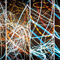 Lightpainting Quads Art Print Photograph 3 by John Williams