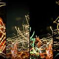 Lightpainting Quads Art Print Photograph 5 by John Williams