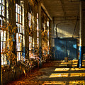 Lightroom Too Mary Leila Cotton Mill 1899 Historic Manufacturing Art by Reid Callaway