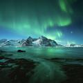 Lights Above Lofoten by Tor-Ivar Naess
