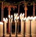 Lights At The Lacma La County Museum Of Art 0763 by Edward Ruth