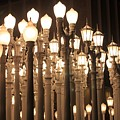 Lights At The Lacma La County Museum Of Art 0768 by Edward Ruth