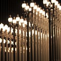 Lights At The Lacma La County Museum Of Art 0773 by Edward Ruth