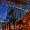 Lights In Down Town Las Vegas by Susanne Van Hulst