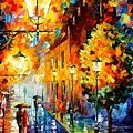 Lights In The Night by Leonid Afremov