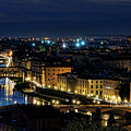 Lights Of Florence by Nancy Morgantini