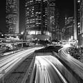 Lights Of Hong Kong by Puk Patrick