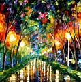 Lights Of Hope by Leonid Afremov
