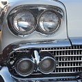Lights On A '58 Chevy by Mike Niday