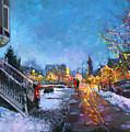 Lights On Elmwood Ave by Ylli Haruni