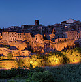 Lights On Pitigliano by Michael Blanchette