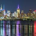 Lights On The Hudson by Kristopher Schoenleber