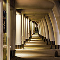 Lights Shadows And Arches by Steven Parker