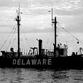 Lightship Delaware Vintage 1968 by Wayne Higgs