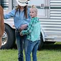 Lil' Cowgirls by Glenn Matthews