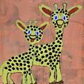 Lil Giraffes by Aj Watson