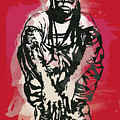 Lil Wayne Pop Stylised Art Sketch Poster by Kim Wang