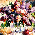 Lilac - Morning Mood by Leonid Afremov