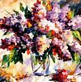 Lilac - Morning Mood by Leonid Afremov