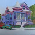 Lilac House, Alameda by Nancy Roberts