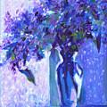 Lilac Rain  by Tanya Filichkin