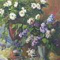 Lilacs And Asters by Tigran Ghulyan