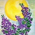 Lilacs In The Midnight Sun by Irenemaria Amoroso
